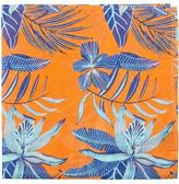 Geoffrey Beene ORCHID PRINT POCKET SQUARE
