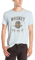 Lucky Brand Men's Whiskey Made Me Graphic Tee