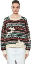 Etoile Isabel Marant Wool Knit Jacquard Sweater