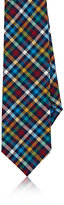 Alexander Olch MEN'S CHECKED COTTON NECKTIE