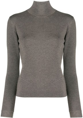 Agnona Mock-Neck Sweater