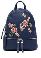 Urban Expressions Rose Vegan Leather Backpack