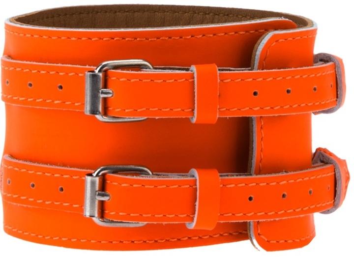 Maison Martin Margiela Calf leather bracelet