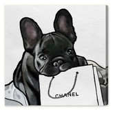 Oliver Gal French French French Canvas Wall Art