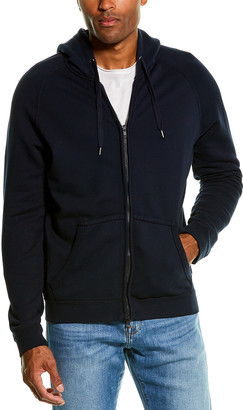 Frame Zip Front French Terry Hoodie