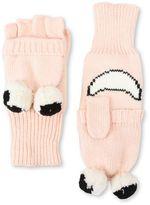 Stella McCartney boone pink gloves