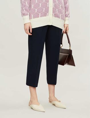 See by Chloe Slim cropped crepe trousers