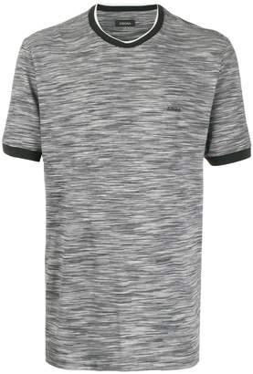 Ermenegildo Zegna marl print T-shirt