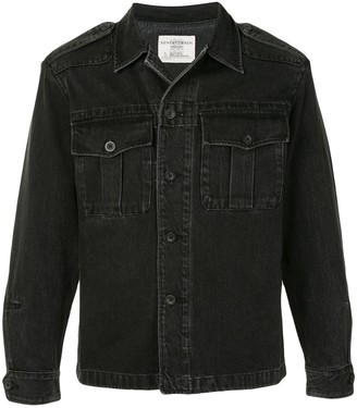 Kent & Curwen Denim Shirt Jacket