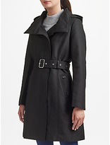 Lauren Ralph Lauren Asym Raincoat, Black