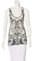 Balmain Printed Sleeveless Top