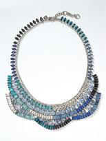 Banana Republic Hues of Blue Statement Necklace