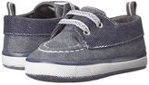 Baby Deer Canvas Deck Shoe (Infant)