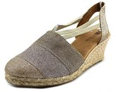 White Mountain Supreme Women US 9 Gold Espadrille