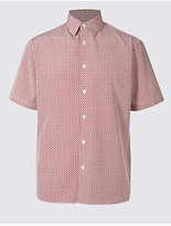 M&S Collection Easy Care Modal Printed Shirt