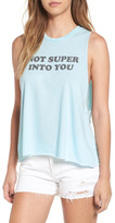 Kid Dangerous &Not Super into You& Graphic Tank