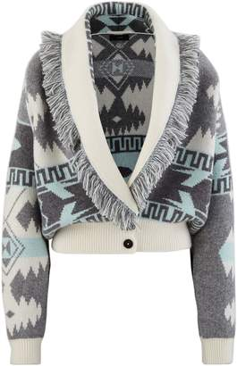 Alanui Cashmere and wool cardigan