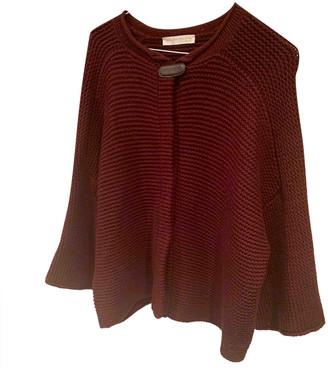 Fabiana Filippi Burgundy Cashmere Knitwear