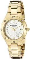 Stuhrling Original Women's 548.04 Symphony Analog Display Quartz Gold Watch