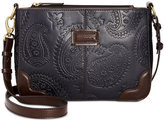 Tignanello Western Embossed Crossbody