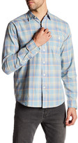 Faherty Seaview Plaid Long Sleeve Regular Fit Shirt