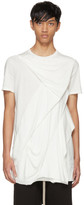 Rick Owens White Wreck T-Shirt