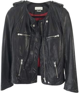 Etoile Isabel Marant Black Leather Leather jackets