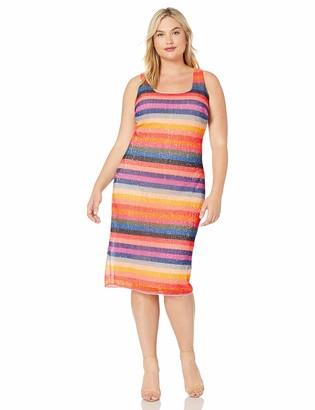 Rachel Roy Women's Plus Size Caroline Sequin Dress