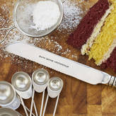 The Cutlery Commission Personalised Silver Plated Cake Knife