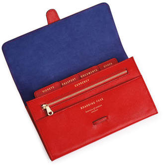 Aspinal of London Classic Travel Wallet