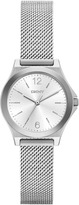 DKNY Parsons Stainless-Steel Silver Mesh Watch