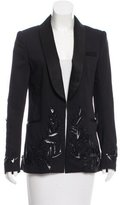Prabal Gurung Wool Embroidered Blazer