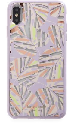Kate Spade island leaf iPhone X/Xs/Xs Max & XR case