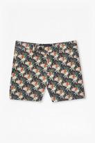 Tropical Parrot Canvas Shorts
