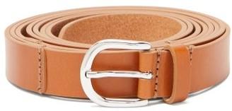 Isabel Marant Juddy Wraparound Leather Belt - Tan