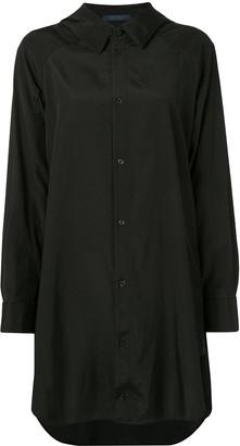 Yohji Yamamoto Oversized Long-Sleeve Shirt