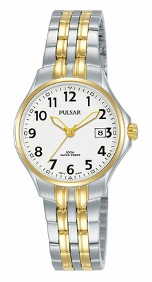 Pulsar Women's Analogue Quartz Watch with Stainless Steel Strap PH7488X1