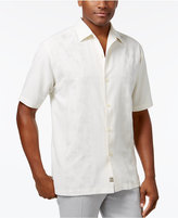 Tommy Bahama Men's Silk Noivado Beach Embossed Shirt