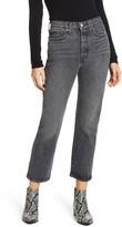 Levi's Wedgie High Waist Straight Leg Jeans
