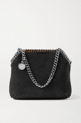 Stella McCartney Falabella Mini Vegetarian Brushed-leather Shoulder Bag