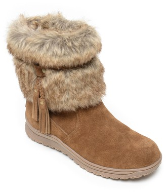 Minnetonka Women's Water Resist Winter Boots -Everett