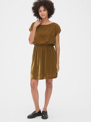 Gap Velvet Skater Dress