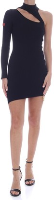 GCDS Deep Cut Dress