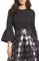 Eliza J Women's Bell Sleeve Top