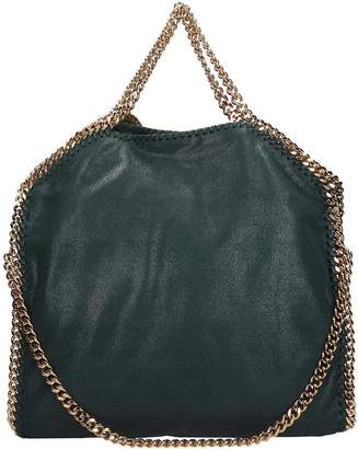 Stella McCartney Falabella Shoulder Bag In Green Faux Leather