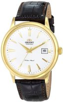 Orient Men's FER24003W0 Bambino Stainless Steel Watch with Brown Band by