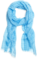 Brooks Brothers Cashmere Gingham Scarf