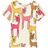 Mini Rodini Roe Deer Ss Tee Pink