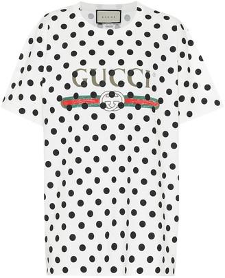 Gucci Logo cotton-jersey T-shirt