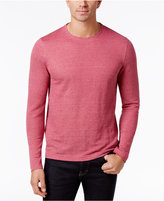 Tasso Elba Men's Heathered Long-Sleeve T-Shirt, Only at Macy's